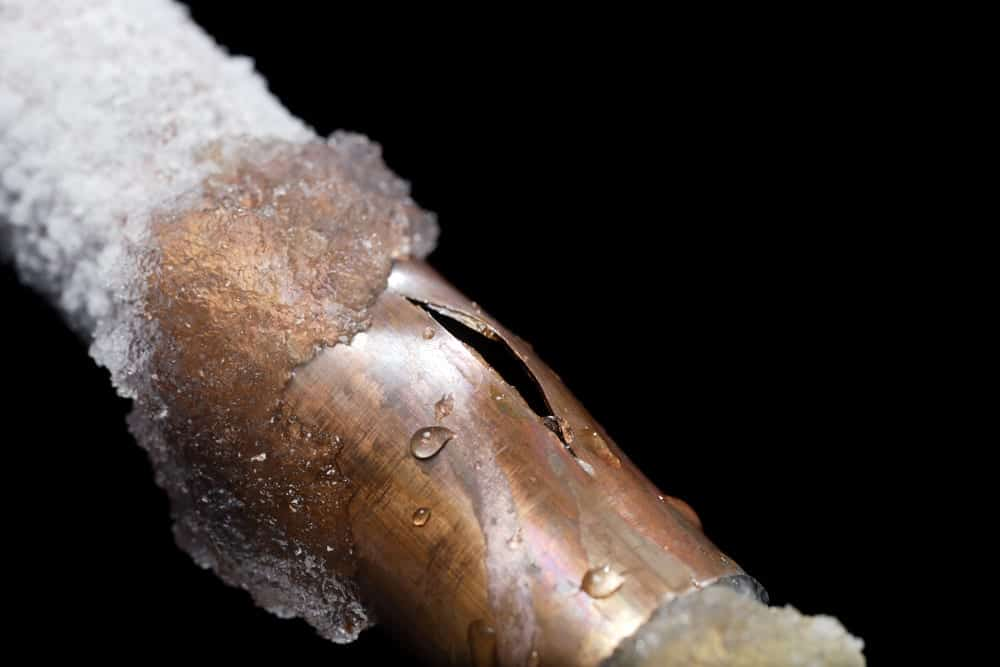 Frozen Pipes Burst