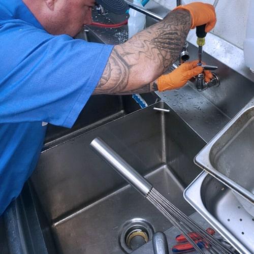 Kitchen sink fix