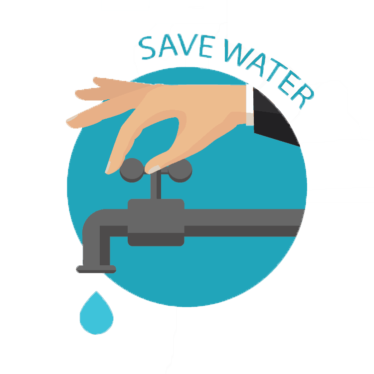 Saving on water can help reduce your monthly bill and your environmental impact